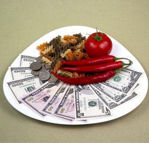 money food plate 300x288 - money-food-plate
